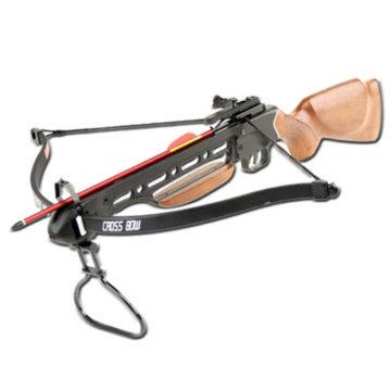 La ballesta de madera o wood stock crossbow 150lb