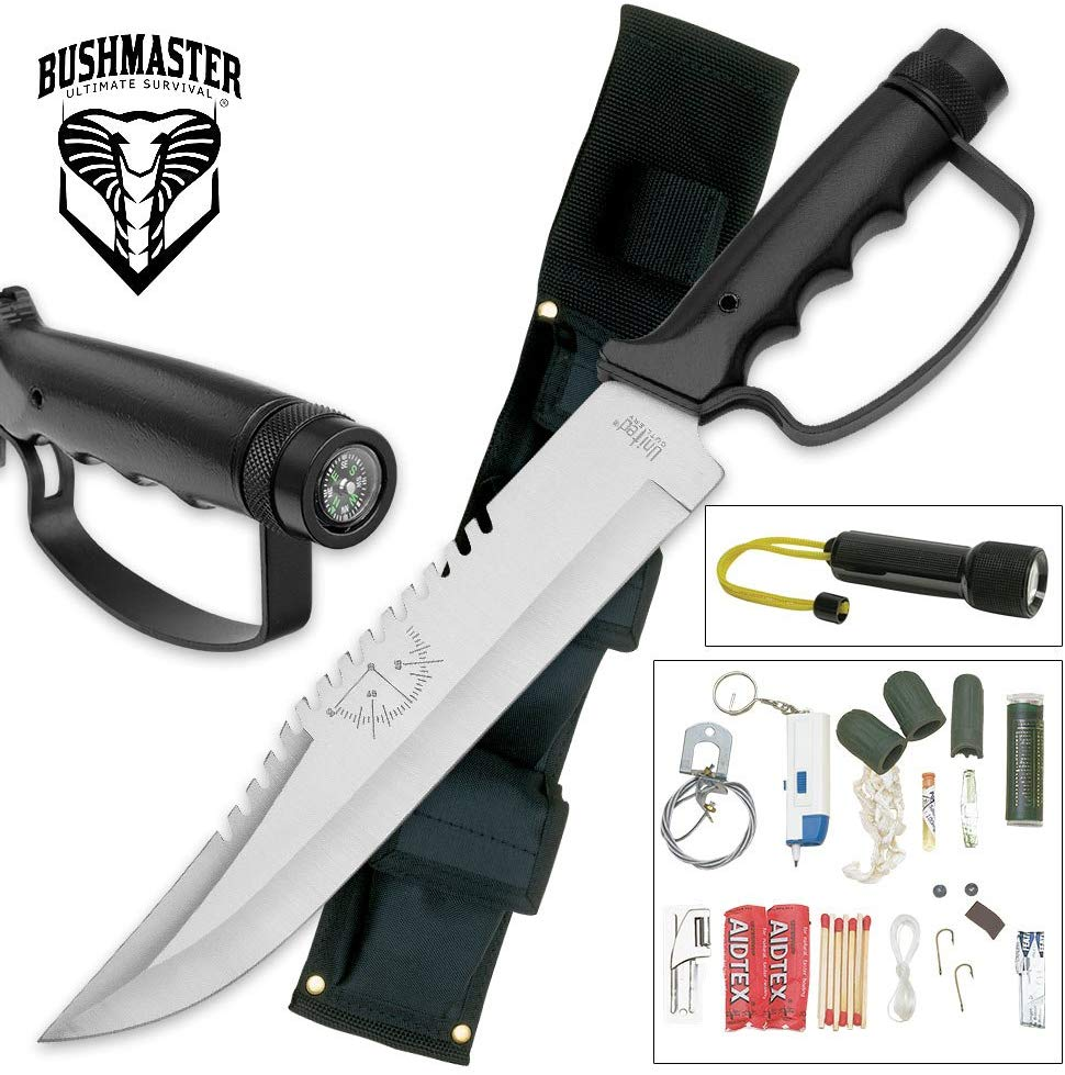 Cuchillo de superviviencia United Cutlery BushMaster Survival Knife
